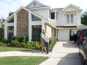 Us and our new home