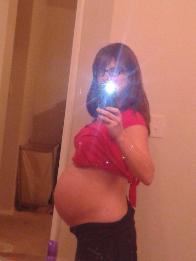 37 week bump