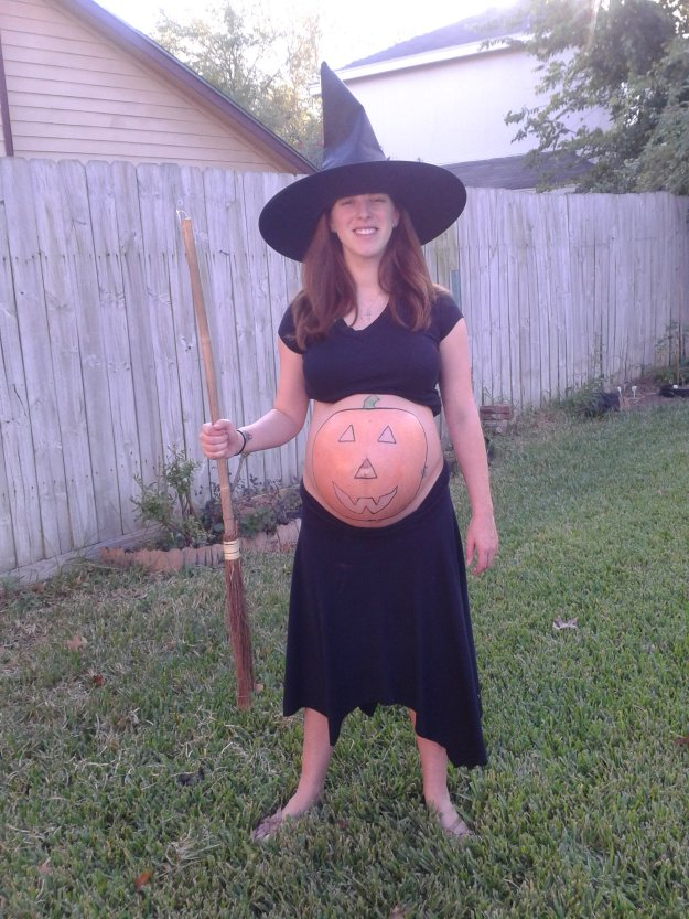 Pregnant witches costume
