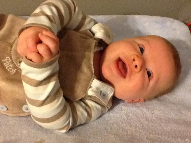 Sam at 4 Months
